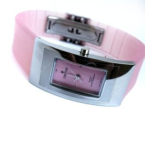 Croton Women's Water Resistant Silicone Band Watch